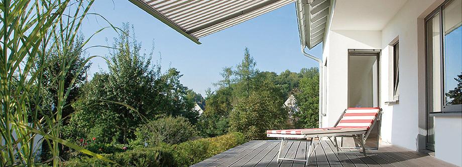 Qualitats Markisen Als Sonnenschutz Fur Garten Balkon Und Terrasse